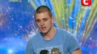 Денис Шерстюк «Україна має талант-5» Кастинг в Одессе