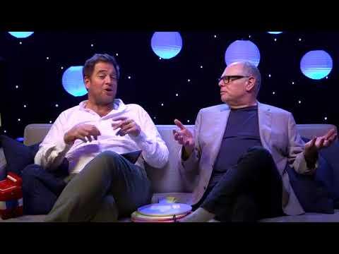 Michael Weatherly and Glenn Gordon Caron was live talking about the Bull season premiere