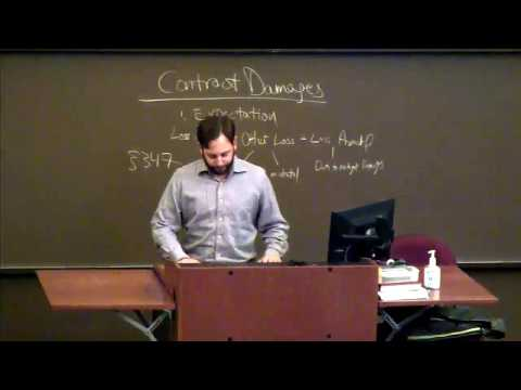 Contract Remedies 12: Equitable Remedies (Specific Performance And Negative Injunction)