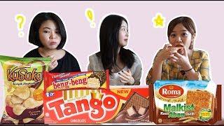 REAKSI JAJANAN INDONESIA/인도네시아 과자 맛은~?