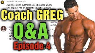 Q&A With Coach Greg Doucette!!! - Episode 4