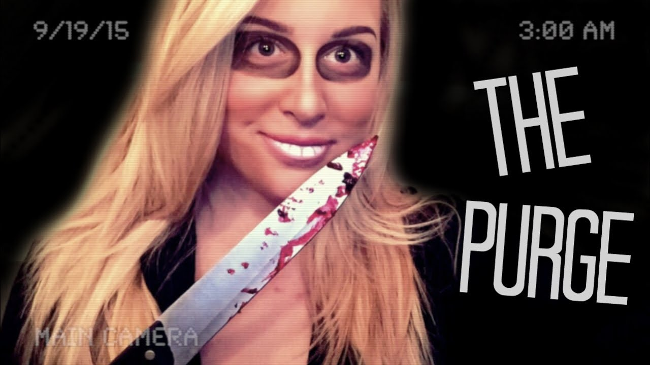 THE PURGE MAKEUP TUTORIAL - YouTube