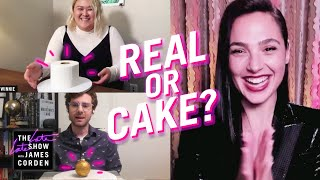 Real or Cake? w/ Gal Gadot