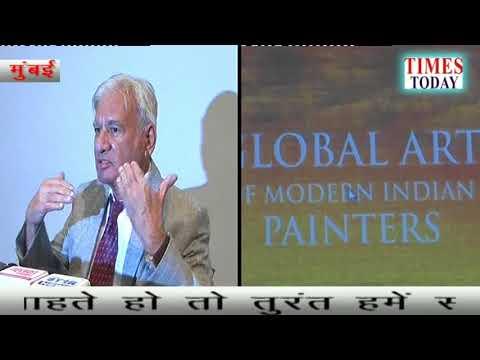 """GLOBAL ART OF MODERN INDIAN PAINTERS"" At the Hands ofShri Adwaita GadanayakDirector General of NG"