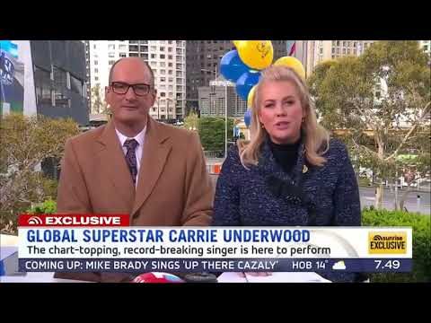 Carrie Underwood - Love Wins (Live Sunrise 2018)