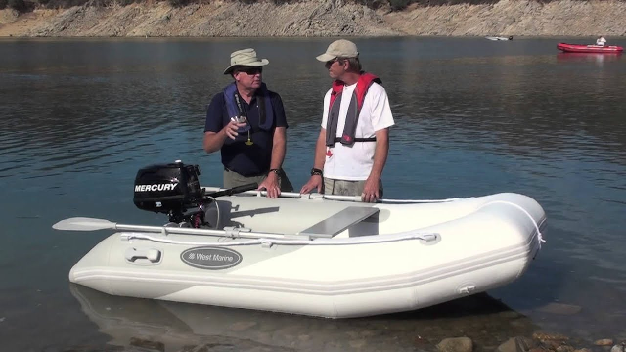 West Marine Ru 3 Inflatable Boat Youtube