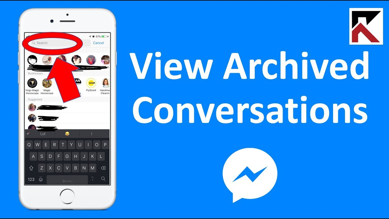 How To View Archived Conversations In Facebook Messenger