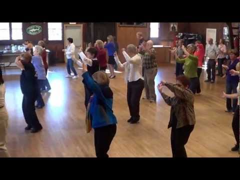 CHA CHA RITMO Line Dance @ 2012 Arden, DE Workshop with IRA & JOANNE