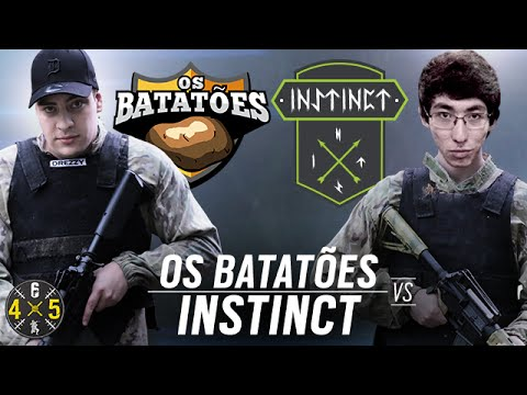 [PT] OS BATATÕES VS INSTINCT TEAM - #Six 4X5