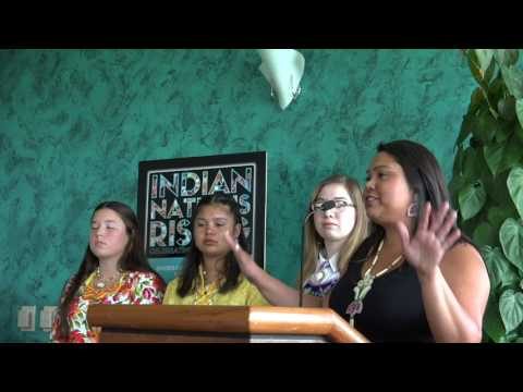 "Indian Nations Rising   Ohero:kon ""Under the Husk"" Rites of Passage"