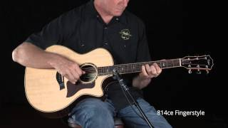 "Taylor Guitars ""814ce"" - Demo"
