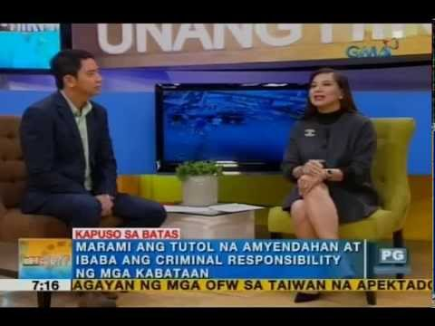 Ivan Mayrina, Atty. Gaby Concepcion discuss increase in child crime rates