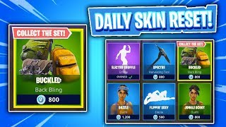 BACK BLING BUNDLE! Daily & Featured Item Shop In Fortnite: Battle Royale! (Skin Reset #202)