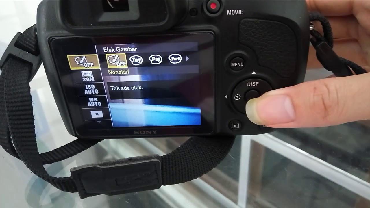 Review Kamera Sony Dsc H400 Mempelajari Tombol Fungsinya Youtube
