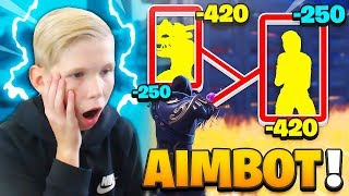 MY SMALL FREE TO An AIMBOT ON FORTNITE! 😱