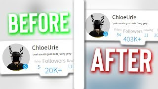 Roblox YouTubers Botted Followers