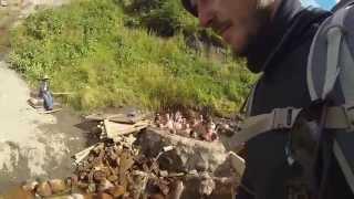 Прохожу мимо теплого источника Долины нарзанов в Кабардино-Балкарии(Понемногу уходит лето... а я продолжаю делиться с вами привезенным из путешествия видео. Записал кусочек..., 2015-08-29T18:34:58.000Z)