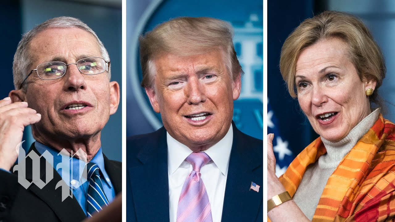 Trump, Fauci, Birx deliver mixed messages on hydroxychloroquine