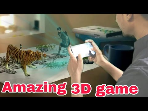 Augmented Reality 3D Game | AR Action Game | Pulimurugan Movie Official 3D Game | by itech