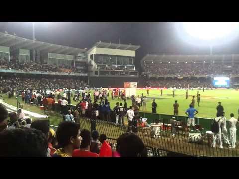 Srilanka semi finals 2011 world cup Final Moments