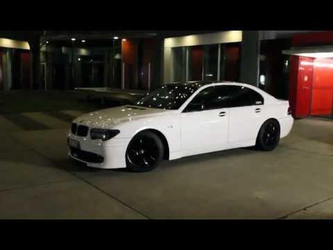 BMW 7er CSR-Tuning in weiss E65