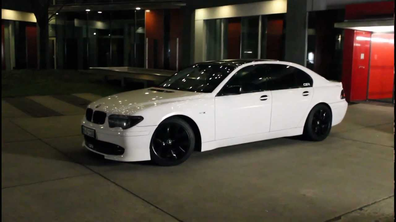 Bmw 7er Csr Tuning In Weiss E65 Youtube