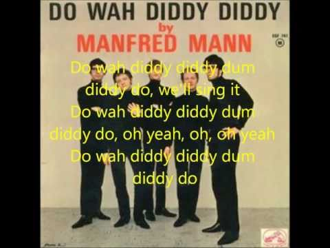 Do Wah Diddy - Manfred Mann (Lyrics)