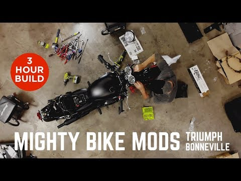 Mighty Bike Mods – Triumph Bonneville