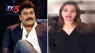 Chiranjeevi Encouraged Me Like No One Else | Tamannah | Chiranjeevi Exclusive Interview | TV5 News