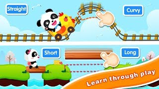 Baby Panda with Magic Words |  Antonyms & Contrast |  Gameplay Video |  BabyBus Game