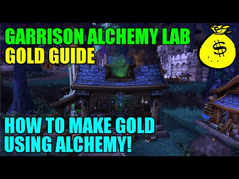 WoW Garrison Alchemy Lab Gold Guide - How To Make Gold With Alchemy!