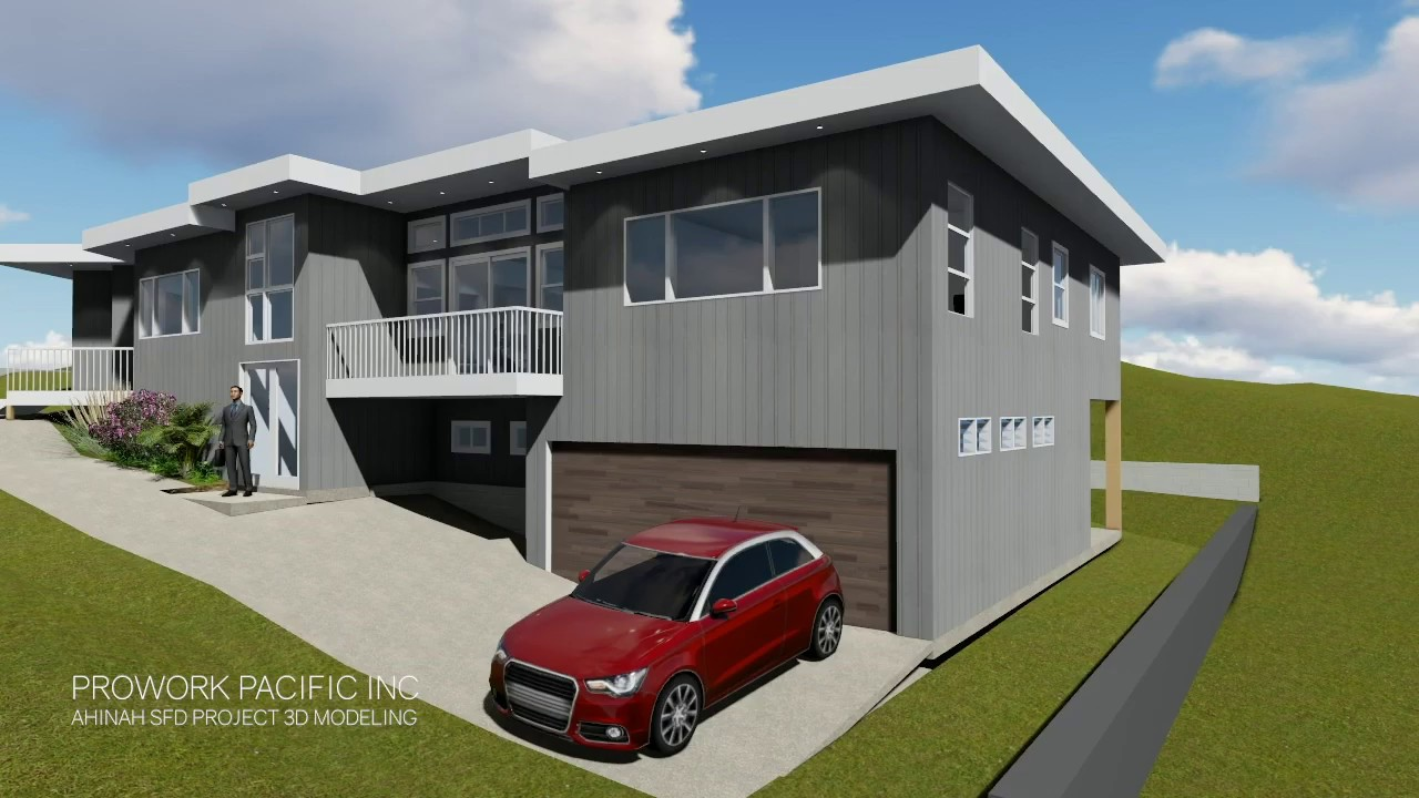 [ 3D Modeling ] Ahinah | Single Family Dwelling (SFD) Project
