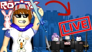 ROBLOX LIVE STREAM | MURDER MYSTERY 2 | COME JOIN!