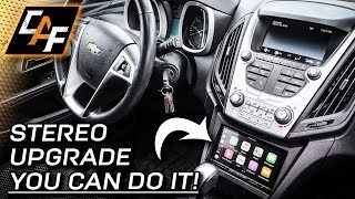 Upgrade for better sound + WIRELESS CARPLAY! How to Install Aftermarket Radio