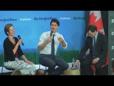 Prime Minister Trudeau at Rotman