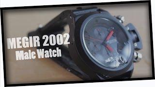 MEGIR 2002 Silicone Band Wristwatch from GearBest.com