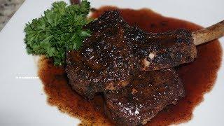 Easy Garlic & Herb Lamb Chops| How To Make Lamb Chops