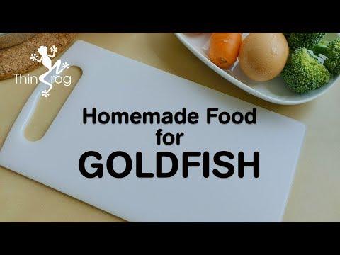 Homemade Food For Goldfish