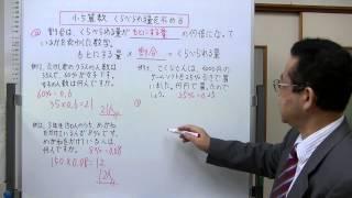 割合を利用して、比べられる量を求める方法を説明しました。 学年別の学...