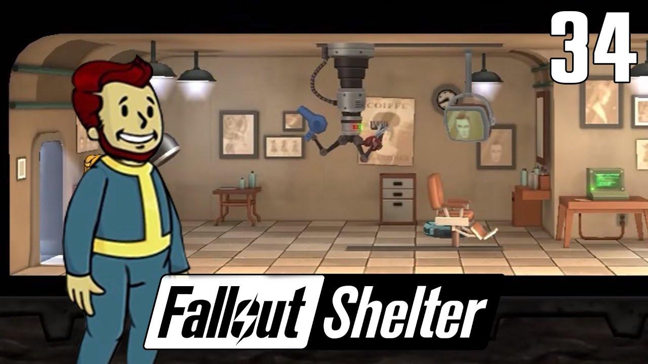 Fallout Shelter 34 Barber Shop Aka Fryzjer Youtube