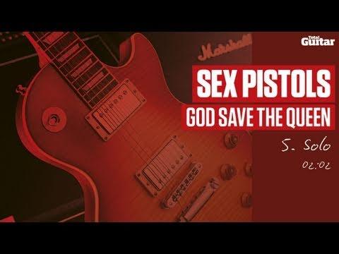 Guitar Lesson: Sex Pistols 'God Save The Queen' -- Part Five -- Solo (TG214)