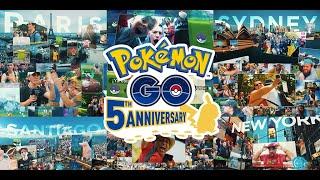 Adventures go on with Pokémon GO! | Pokémon GO 5th Anniversary