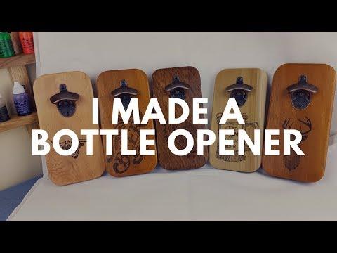 The start of Christmas gifts (bottle opener)