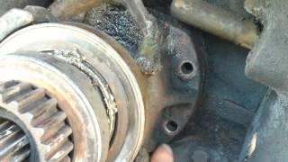 Замена выжимного подшипника трактор т40