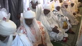Emir of Kano, Mohammadu Sanusi II At Kano EID Ground for EID El Fitr Prayers