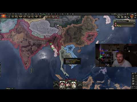 TommyKay Plays HOI4 Kaiserreich Co-Op - India and Vietnam Spread Socialism! (with Feedbackgaming) #2