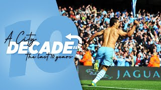 Best Goals of the Decade | Man City 2010-2019 | Aguero, Tevez, Toure, Dzeko & More