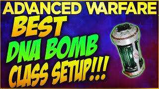 "COD: Advanced Warfare - BEST ""DNA BOMB"" CLASS SETUP! (COD: AW Multiplayer Class Setups)"