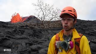 Kīlauea Volcano – USGS 24 Hour Watch: Monitoring Lava Flow