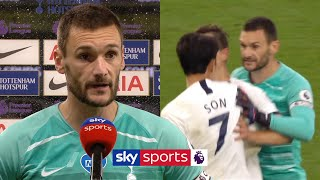 Hugo Lloris reveals WHY he clashed with Heung Min Son at half-time!